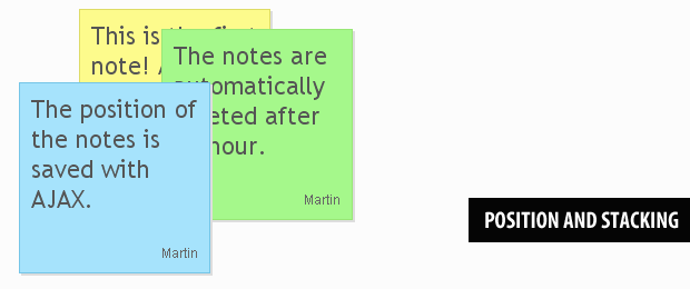 AJAX-enabled Sticky Notes With PHP & jQuery - Tutorialzine