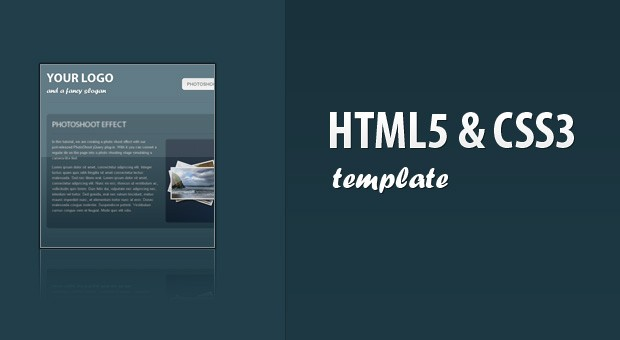 coding a css3 html5 one page website template tutorialzine