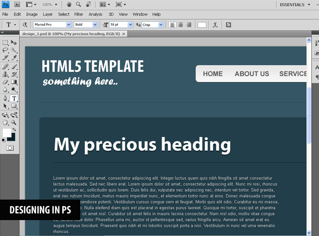 Coding a css3 html5 one page website template tutorialzine i1g maxwellsz
