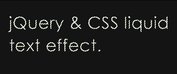 Neon Text Effect With jQuery & CSS - Tutorialzine