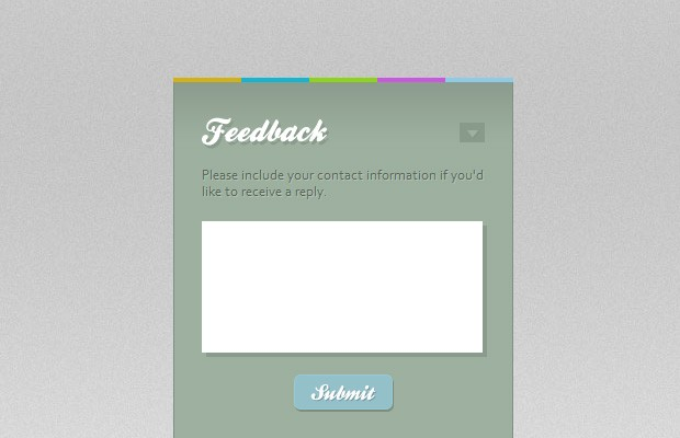 Quick Feedback Form w/ PHP and jQuery - Tutorialzine
