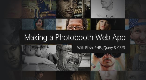 Photobooth with PHP, jQuery and CSS3 - Tutorialzine