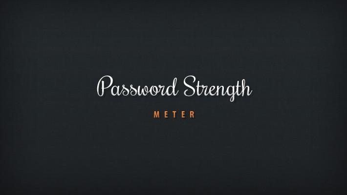 Tutorial: Create a Beautiful Password Strength Meter - Tutorialzine