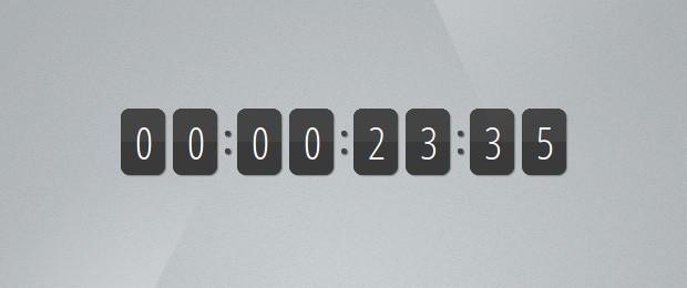 Quick Tip: Make a jQuery Count Up Timer - Tutorialzine