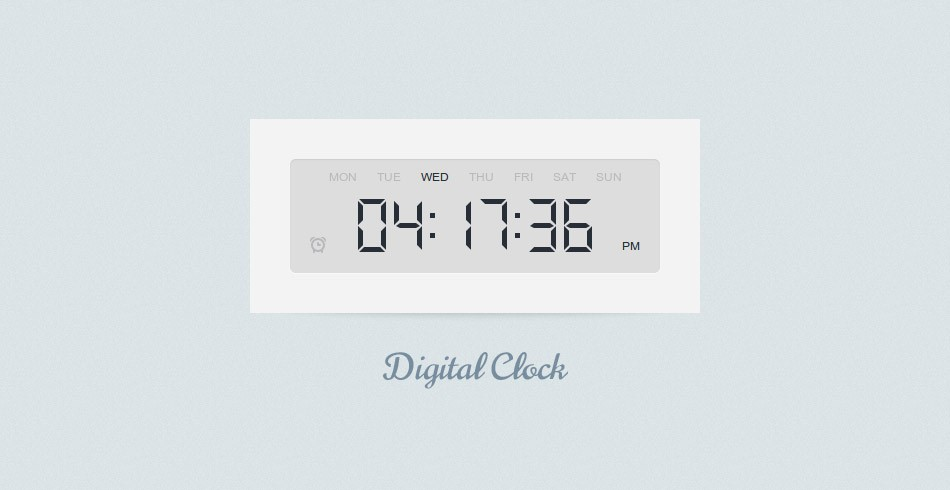 Adding Alarms to the Digital Clock - Tutorialzine
