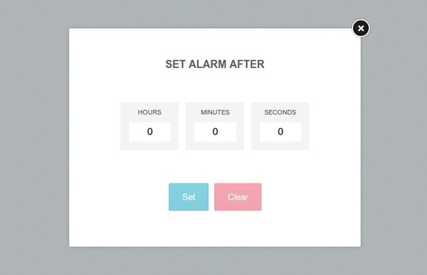 Adding Alarms to the Digital Clock - Tutorialzine