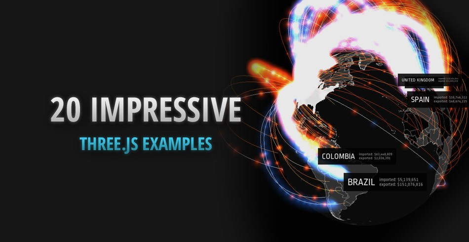 20 Impressive Examples for Learning WebGL with Three.js