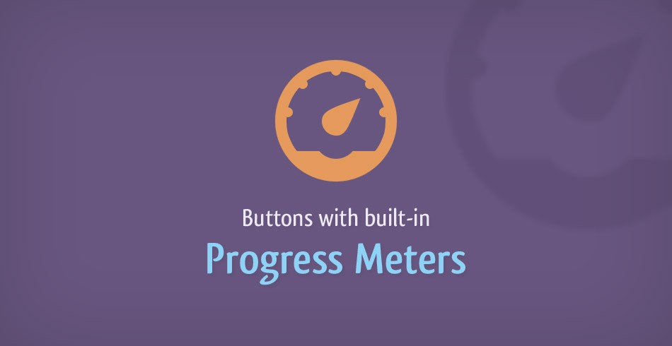Buttons With Built-in Progress Meters - Tutorialzine