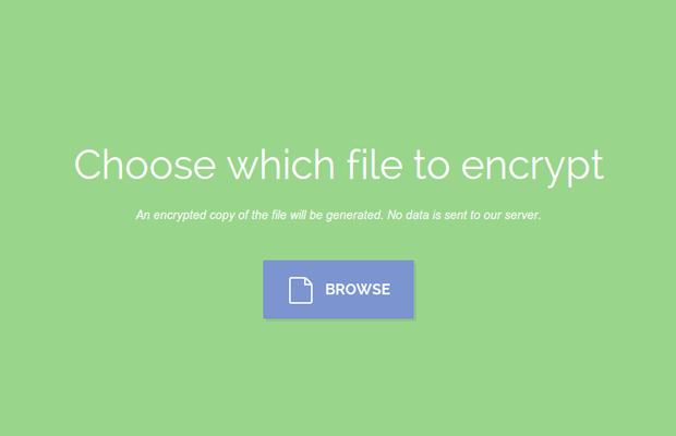 Creating a File Encryption App with JavaScript - Tutorialzine