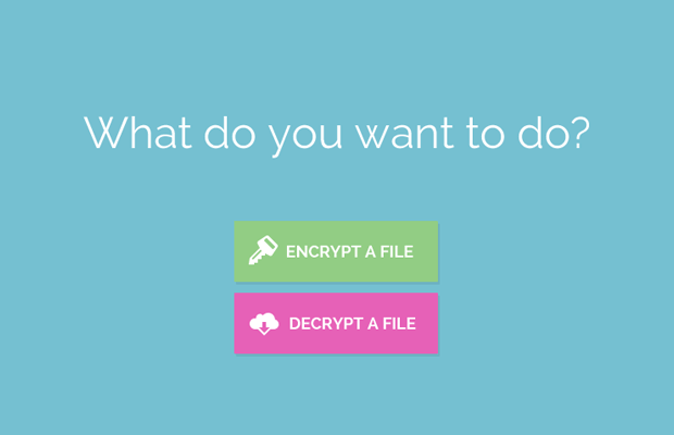 Creating a File Encryption App with JavaScript - Tutorialzine