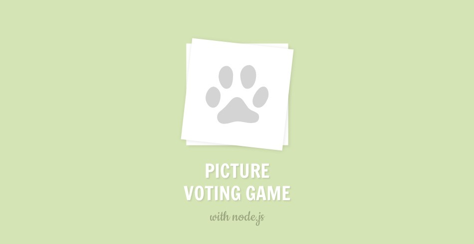 Make a Picture Voting Game with Node js (Part 2) - Tutorialzine