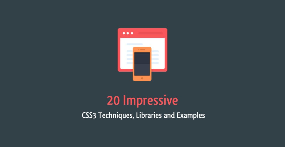 20 Impressive CSS3 Techniques, Libraries and Examples - Tutorialzine