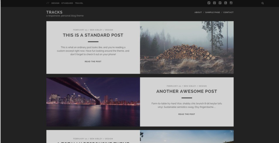 The 30 Best Free WordPress Themes Of 2014 - Tutorialzine