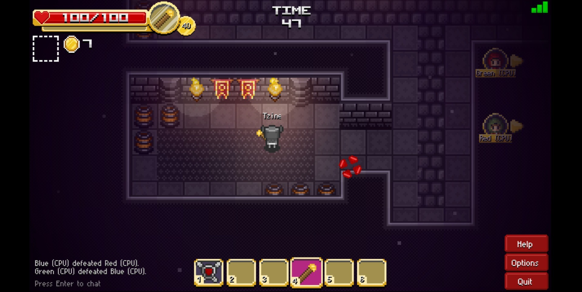 30 amazing games made only with html5 tutorialzine 4 treasure arena gumiabroncs Choice Image