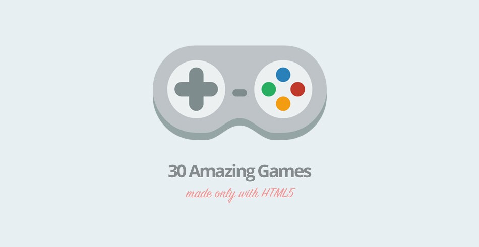 30 Amazing Games Made Only With HTML5 - Tutorialzine