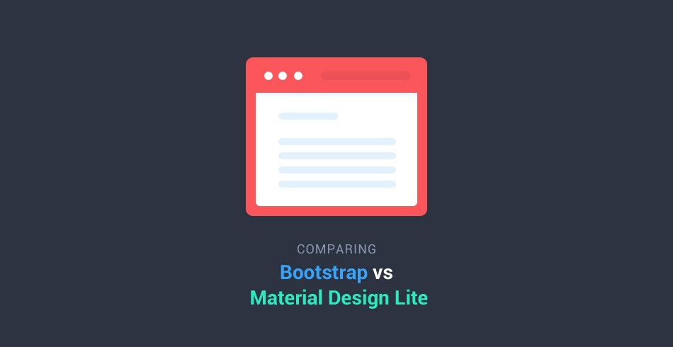 Comparing Bootstrap With Google S Material Design Lite Tutorialzine