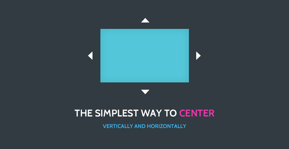 Quick Tip: The Simplest Way To Center Elements Vertically And