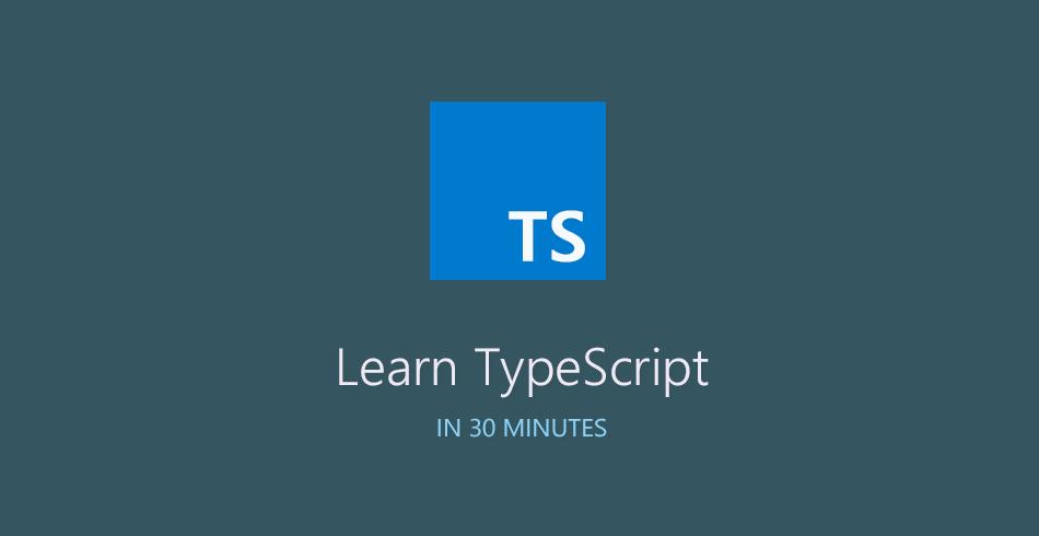 Learn TypeScript in 30 Minutes - Tutorialzine