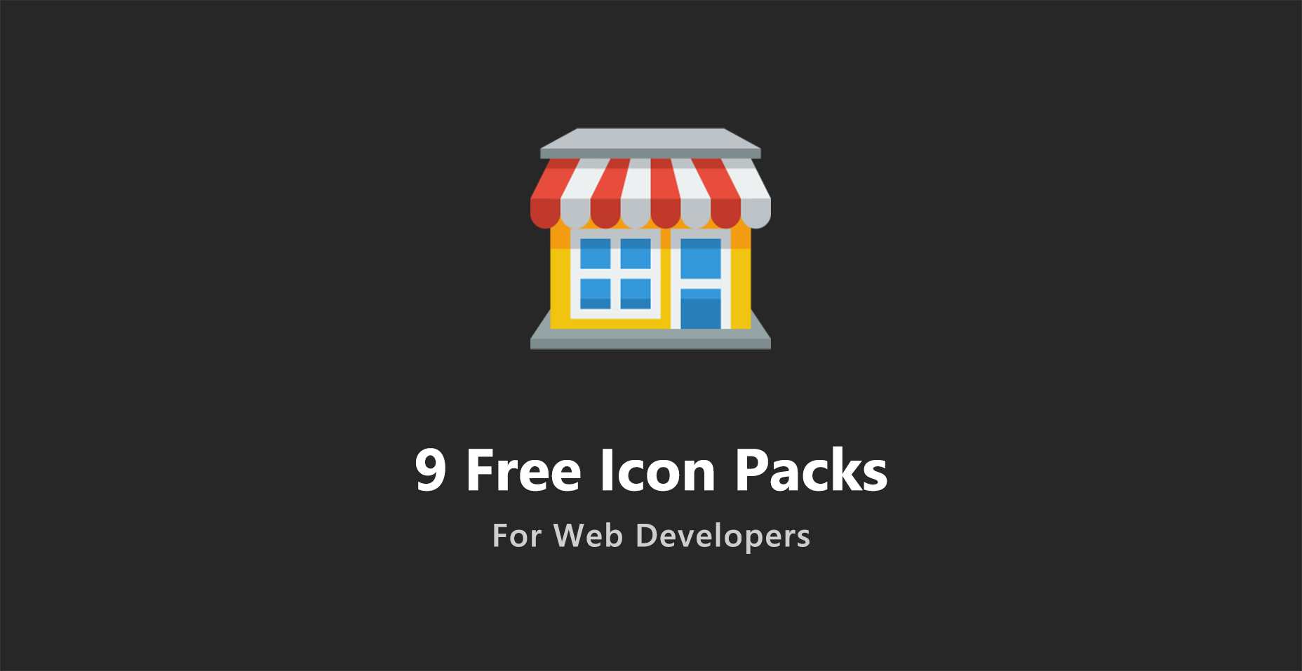9 Free Icon Packs For Web Developers - Tutorialzine