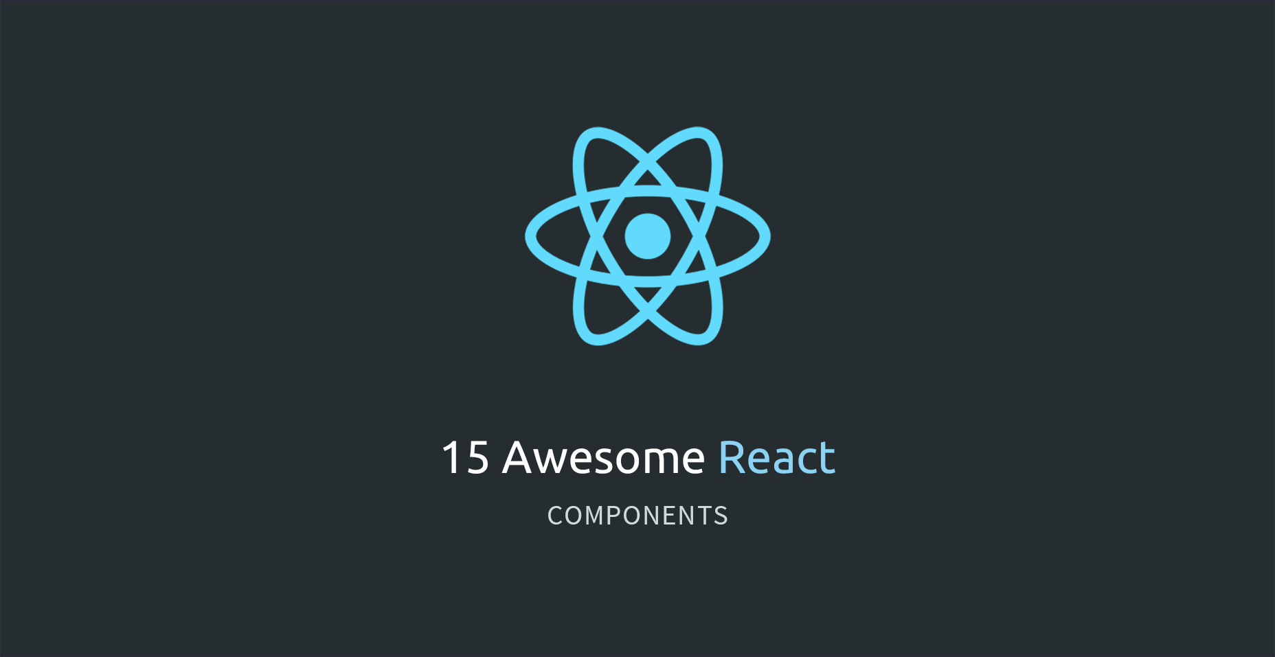 15 Awesome React Components - Tutorialzine