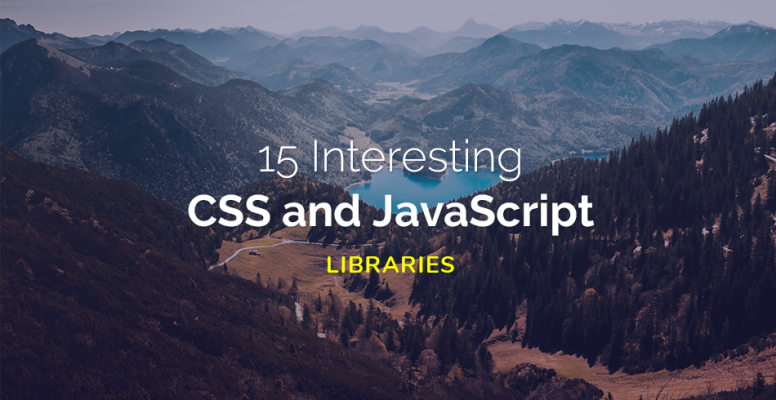 15-interesting-javascript-and-css-libraries-for-january-2018