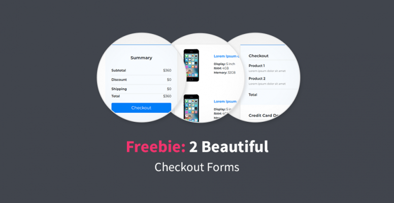 freebie-2-beautiful-checkout-forms