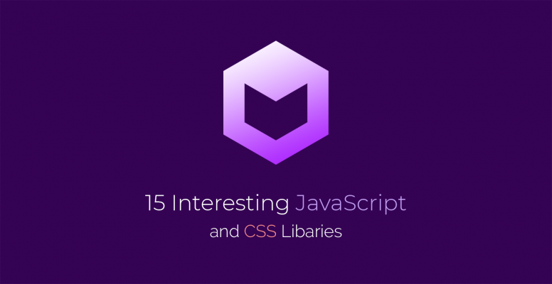 15 Interesting JavaScript and CSS Libraries for April 2018