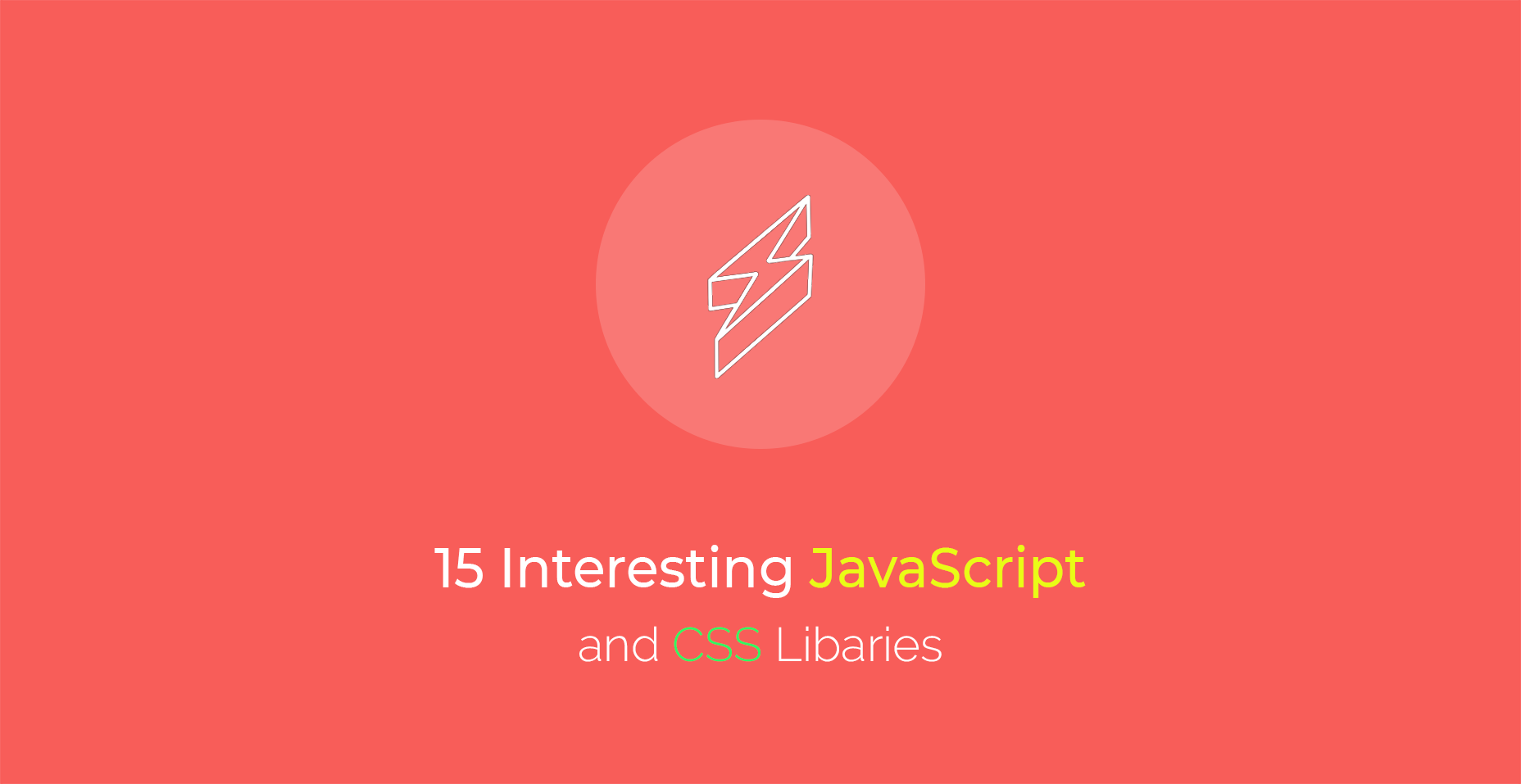 15 Interesting JavaScript and CSS Libraries for May 2018