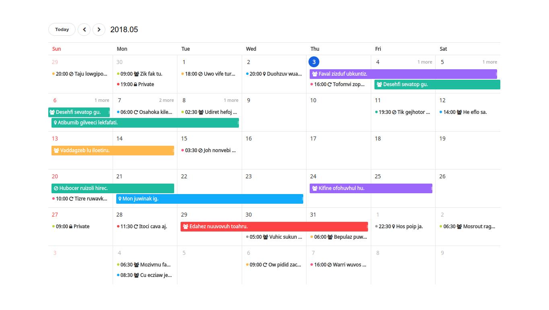 Javascript Calendar.15 Interesting Javascript And Css Libraries For May 2018 Tutorialzine