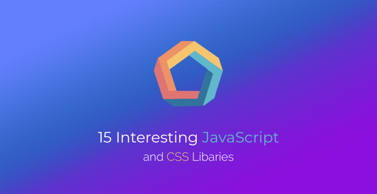15-interesting-javascript-and-css-libraries-for-june-2018