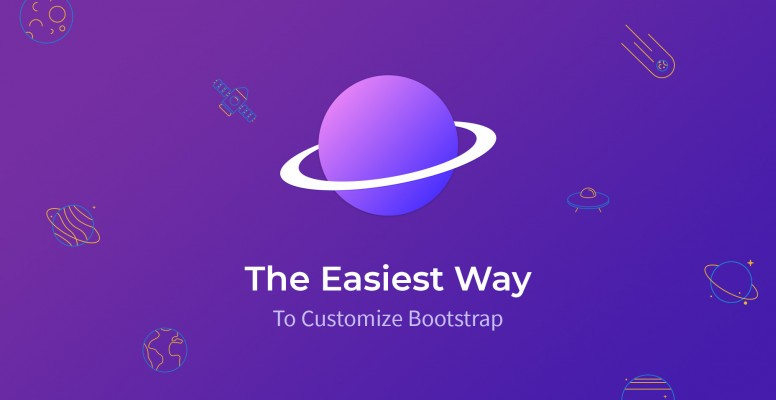 The Easiest Way To Customize Bootstrap - Tutorialzine [en] (Martin Angelov) @Tutorialzine
