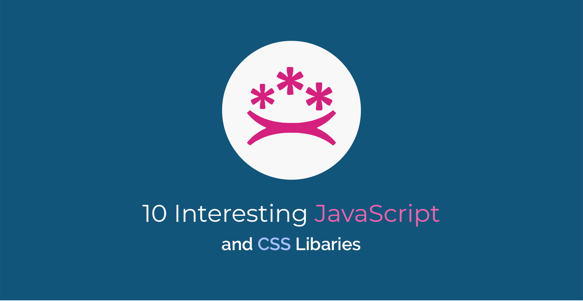 10 Interesting JavaScript and CSS libraries for September