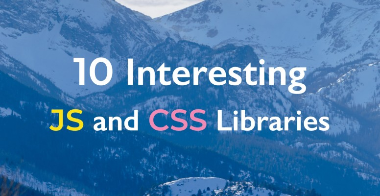 10-interesting-javascript-and-css-libraries-for-march-2020