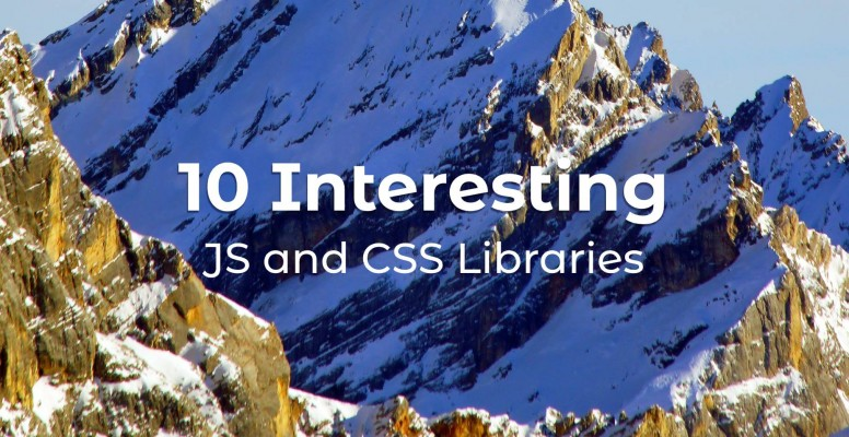10-interesting-javascript-and-css-libraries-for-may-2020