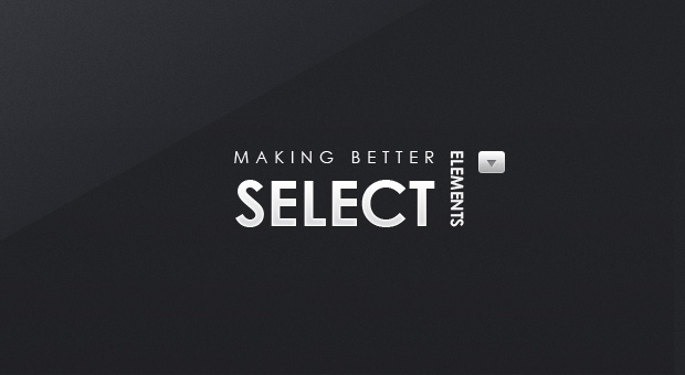 Making Better Select Elements with jQuery and CSS3